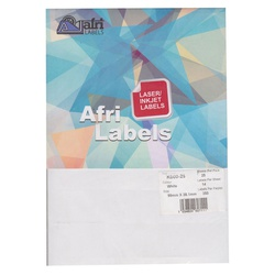 Afri Laser Labels K000-25