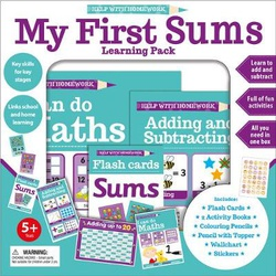 Help With Homework: My First Sums Learning Pack (Igloo)