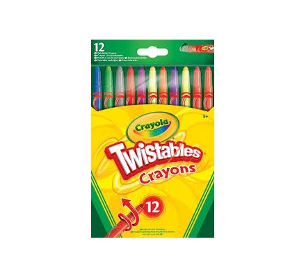 Crayola Twistable Crayons 12s 52-8530-E-200