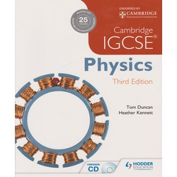 Cambridge IGCSE Physics 3ED (Hodder)