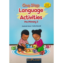 One planet One step Language activities Pre-Primary 2