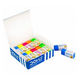 Doms Erasers Long Coloured 3470/1