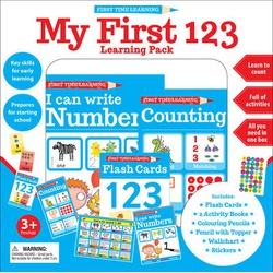 First Time Learning: My First 123 Learning Pack