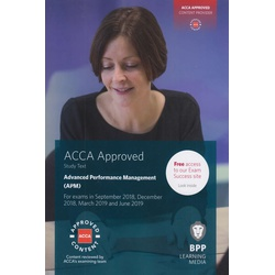 BPP ACCA Study Text (APM) Sep 2018- June 2019