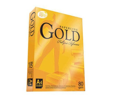 Photocopy Paper A4 Paperline Gold White