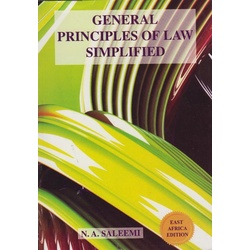General Principles of Law Simplified-Saleemi