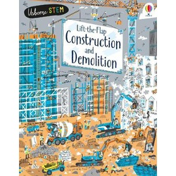 Usborne Lift The Flap Construction And Demolition