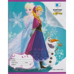 Exercise book 96 pages Disney Single Line Manila Cover