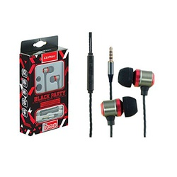 Cliptec In Earphone wt Mic CL-HST-BME888 Assorted