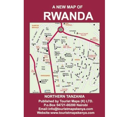 A new map of rwanda and northern tanzania text book centre a new map of rwanda and northern tanzania publicscrutiny Image collections