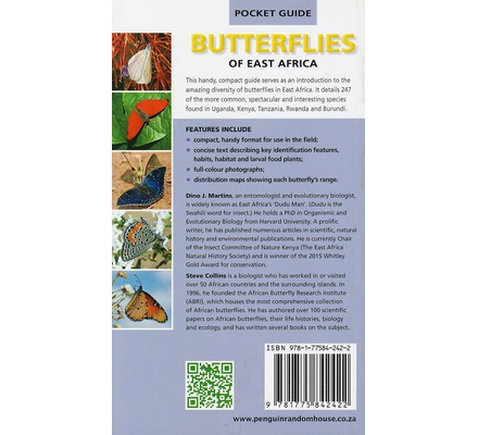 Pocket Guide Butterflies of East Africa (Struik)