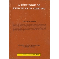 Textbook of Principles of Auditing