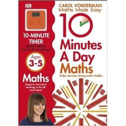 Dk- 10 Minute a day Maths Ages 3-5