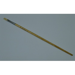 Oil Paint brush Long handle flat 579/842-3