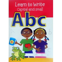 Learn to write Capital & Small A b c