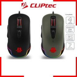 Cliptec USB RGB 4800 Pro-Gaming Mouse RGS574