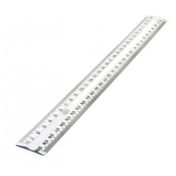 "Haco Ruler 12"" Clear"