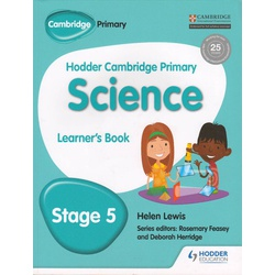Hodder Cambridge Primary Science Learn 5
