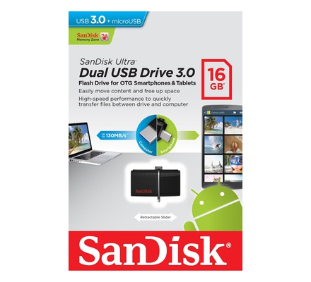 SanDisk Flash Disk 16gb OTG usb