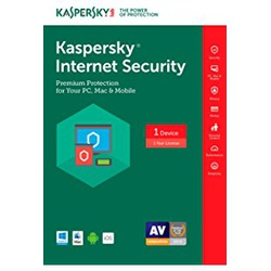 Kaspersky Internet Security 1 +1 User 2018