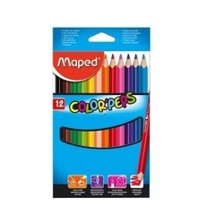 Maped color peps 12 pencils 834010