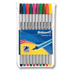 Pelikan Fineline 10s 96/10 10colors 9406