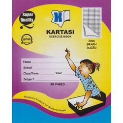 Exercise books 48pages Kartasi Brand Graph Manila Cover