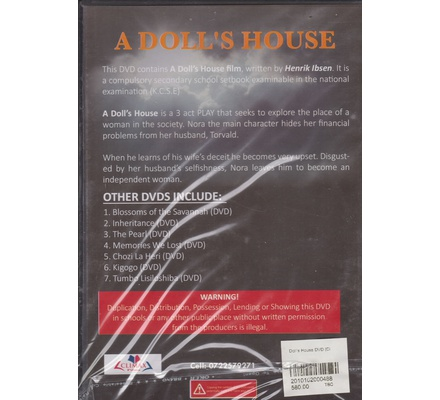 Doll's House DVD (Climax)