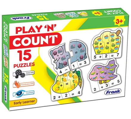 Play N Count 15 Pcs Puzzle Frank Age 3+ 10163
