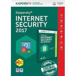 Kaspersky Internet Security 1 +1 User 2017