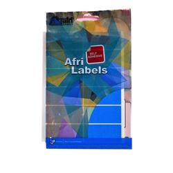 Afri Label coloured - Ordinary K22 Blue