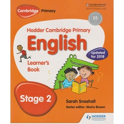 Hodder Cambridge Primary English Learner's 2