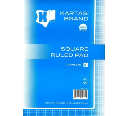 Square ruled Pad Ref131