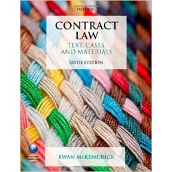 Contract Law Text Cases 6ED (McKendrick) CONTRACT LAW