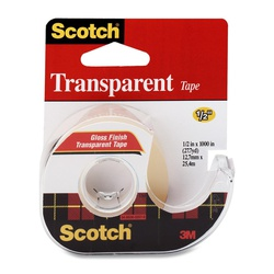 """3M Scotch Transparent Tape 1/2"""""""