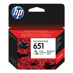 Hp Ink Cartidge 651 Colour