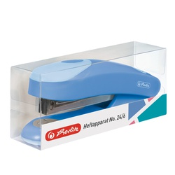 Herlitz Stapler 24/6 Baltic Blue 50015795