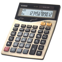 DJ-220/220D Casio Calculator