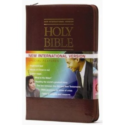 Holy Bible NIV Mini pocket Zip