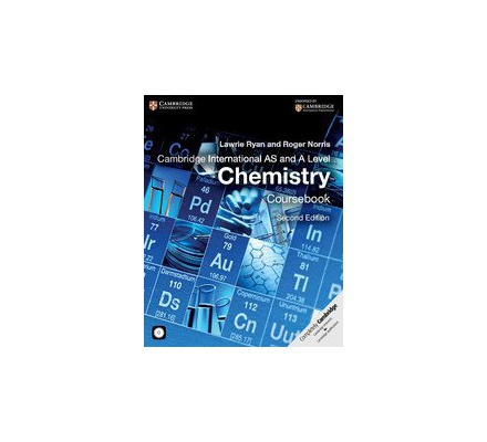 Cambridge International AS & A Level Chemistry 2nd Edition.