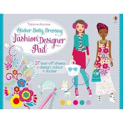 Usborne Activities Sticker Dolly Dressing Fashion