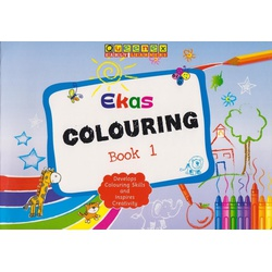 Queenex Ekas Colouring Book 1