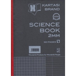 Science book 160pages HardCover A4 2MM