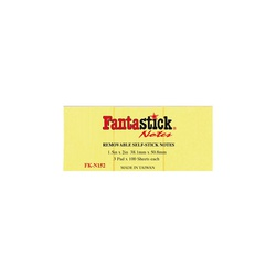 "Fantastic Sticky Notes 1.5*2"" YW N152"