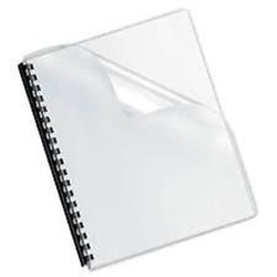 Transparent Binding Cover A4 Loose