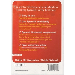 Oxford First Learner's Spanish Dictionary