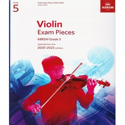 Violin Exam Pieces Grade 5 2020-2023