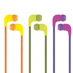 Cliptec Lace Multimedia in-ear EarPhone witht Microphone BME767 Assorted.