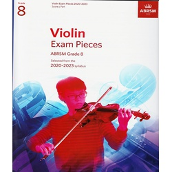 Violin Exam Pieces Grade 8 2020-2023