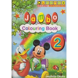 Queenex Early Learning Jambo Colouring book 2
